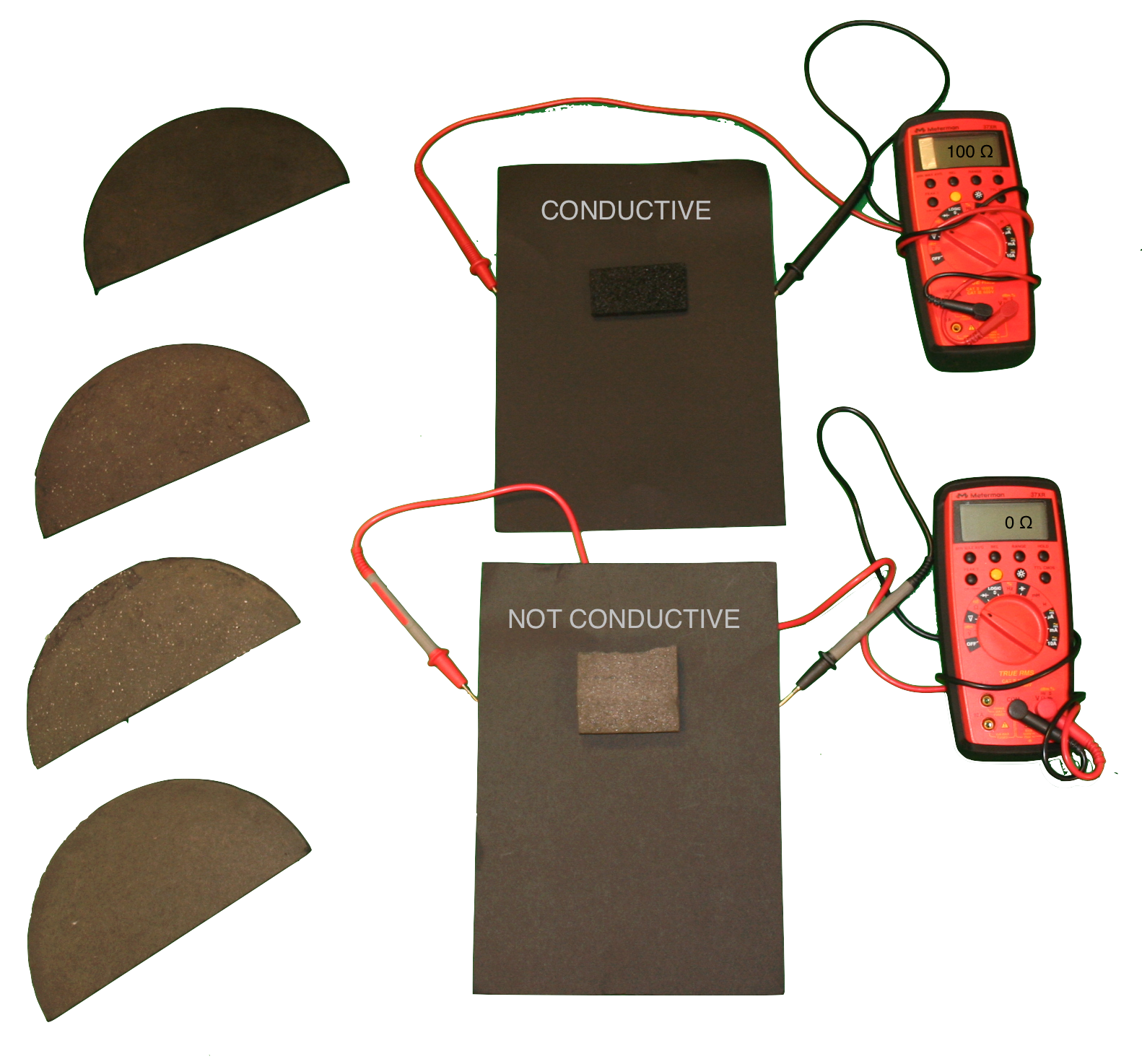 Conductive papers